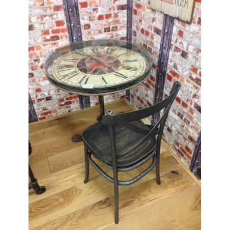 Scarfo Clock Table Home Smithers of Stamford £470.00 Store UK, US, EU, AE,BE,CA,DK,FR,DE,IE,IT,MT,NL,NO,ES,SE