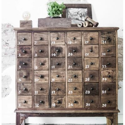 Apothecary Chest of 36 Drawers