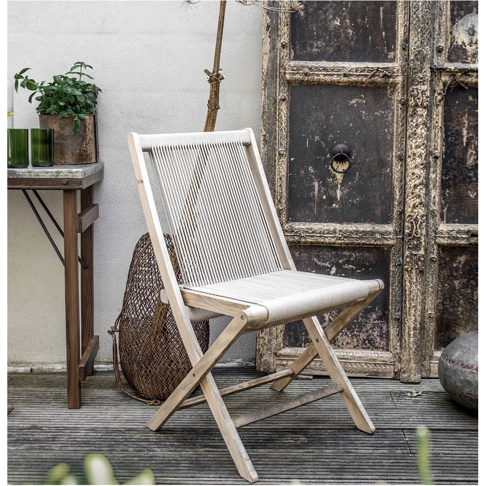 Rope Folding Chair