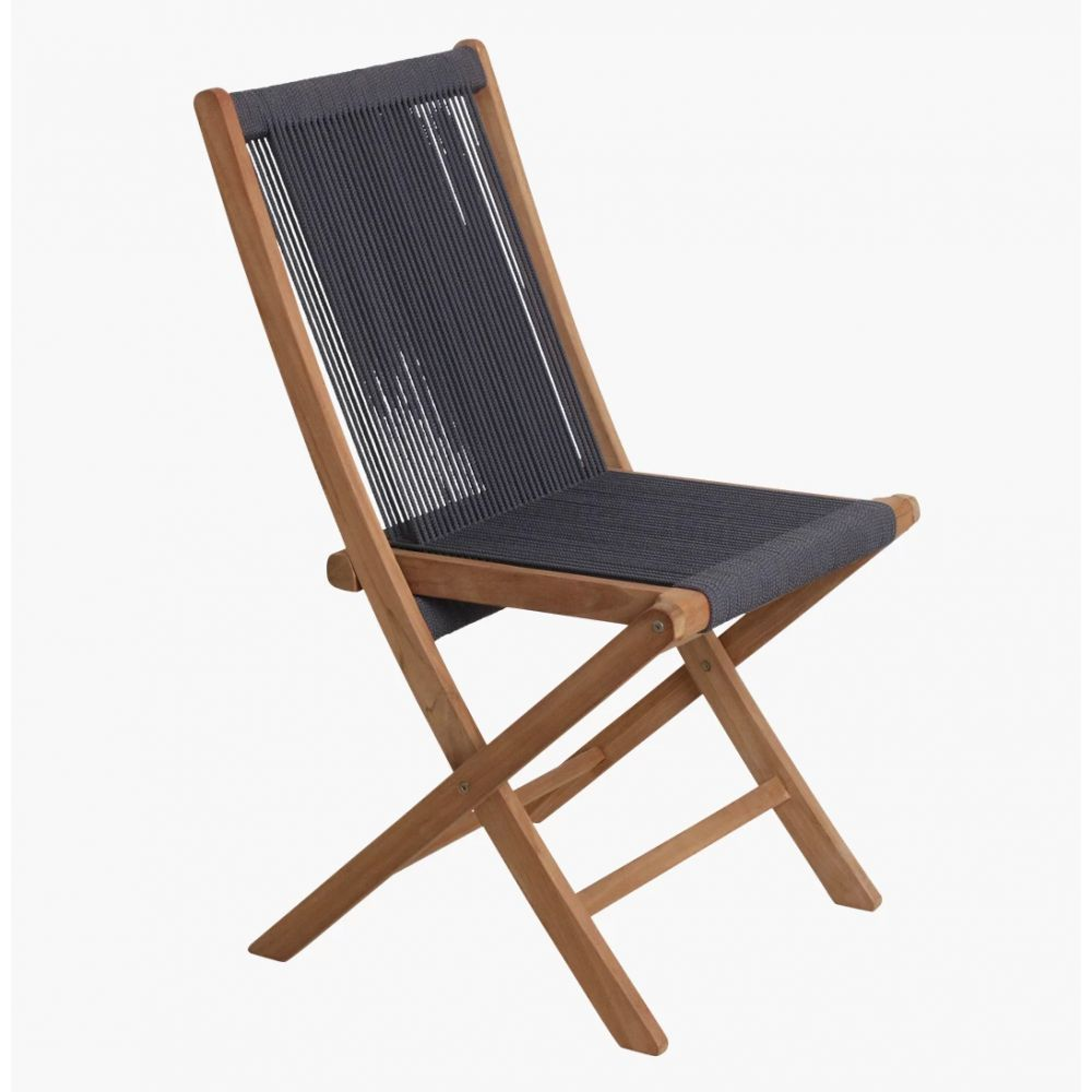 Folding Rope Chair Weave Foldable