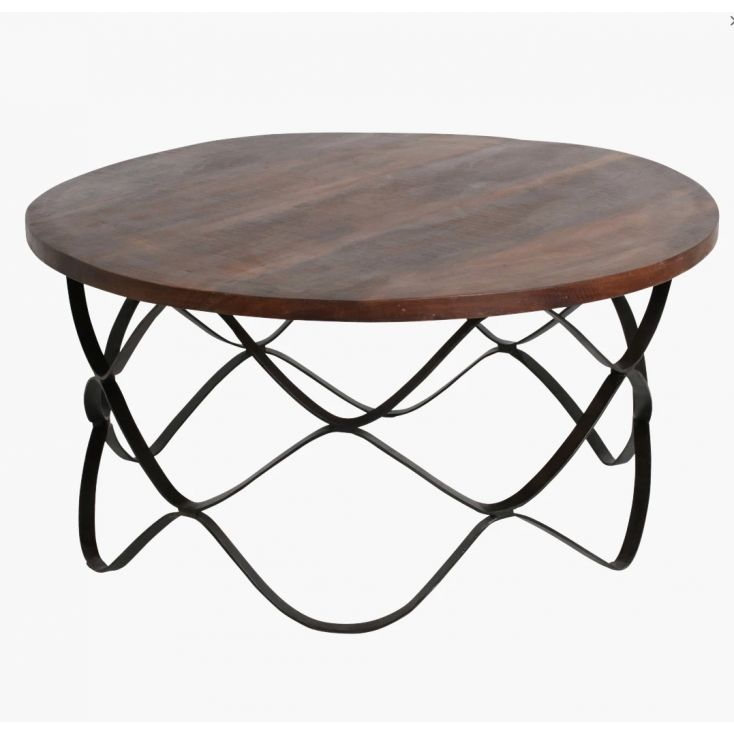 Wave FSC Reclaimed Wood Coffee Table Kitchen & Dining Room £ 499.00 Store UK, US, EU, AE,BE,CA,DK,FR,DE,IE,IT,MT,NL,NO,ES,SE