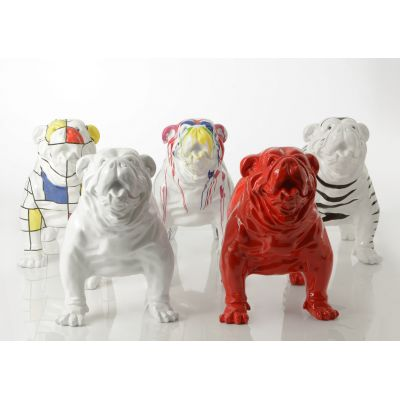 Large Bulldog Ornaments