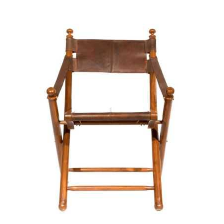 Safari Leather Directors Chair Vintage Furniture Smithers of Stamford £ 350.00 Store UK, US, EU, AE,BE,CA,DK,FR,DE,IE,IT,MT,N...