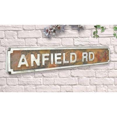 Metal Football Road Signs