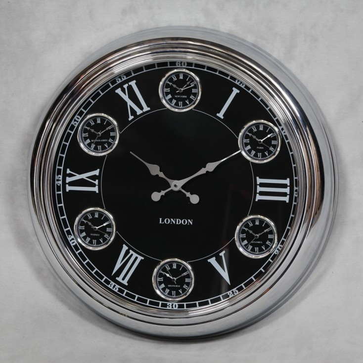 Chrome 1950's Style Clock Smithers Archives Smithers of Stamford £ 178.00 Store UK, US, EU, AE,BE,CA,DK,FR,DE,IE,IT,MT,NL,NO,...