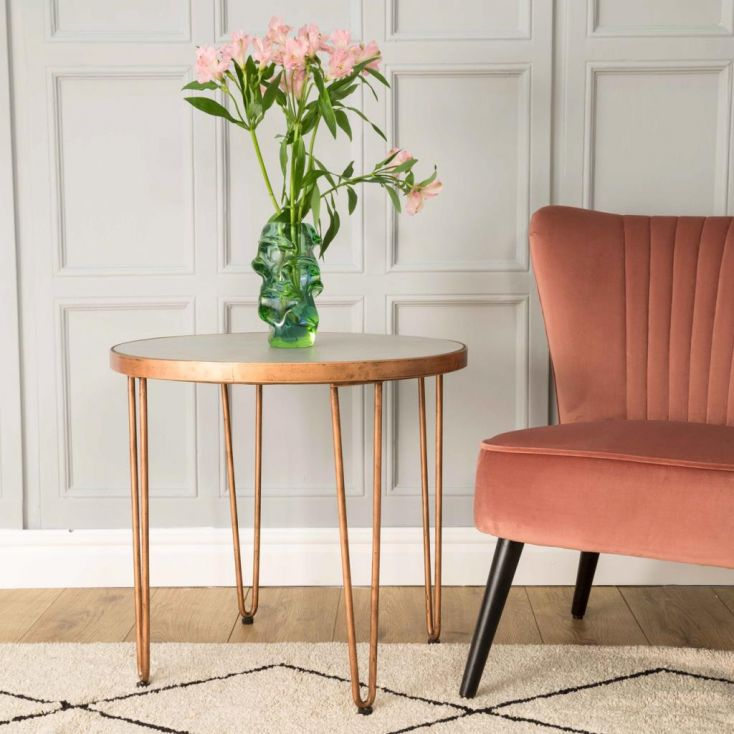 Copper Side Table Side Tables & Coffee Tables Smithers of Stamford £ 319.00 Store UK, US, EU, AE,BE,CA,DK,FR,DE,IE,IT,MT,NL,N...