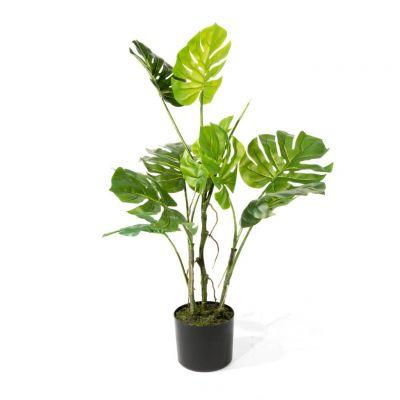 Faux Monstera Plant