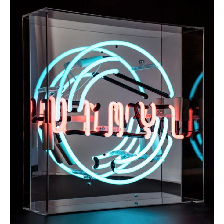 Vinyl Neon Light Retro Gifts Smithers of Stamford £ 120.00 Store UK, US, EU, AE,BE,CA,DK,FR,DE,IE,IT,MT,NL,NO,ES,SE