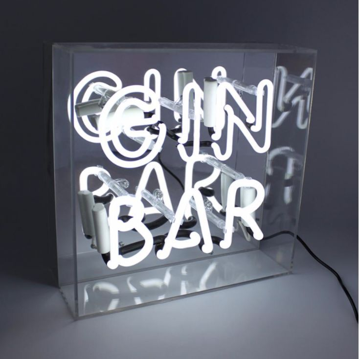Gin Bar Sign Retro Gifts Seletti £ 89.95 Store UK, US, EU, AE,BE,CA,DK,FR,DE,IE,IT,MT,NL,NO,ES,SE
