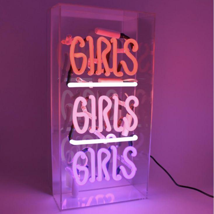 Girls Girls Girls Neon Light Sign Vintage Lighting Seletti £ 99.95 Store UK, US, EU, AE,BE,CA,DK,FR,DE,IE,IT,MT,NL,NO,ES,SE
