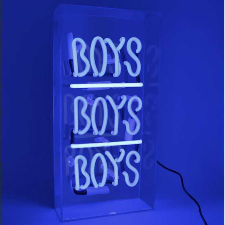 Boys Boys Boys Neon Sign Vintage Lighting  Seletti £ 109.00 Store UK, US, EU, AE,BE,CA,DK,FR,DE,IE,IT,MT,NL,NO,ES,SE