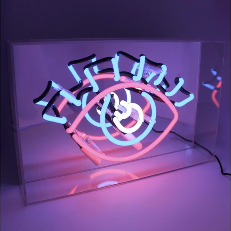Eye Neon Light Retro Gifts Seletti £ 89.00 Store UK, US, EU, AE,BE,CA,DK,FR,DE,IE,IT,MT,NL,NO,ES,SE