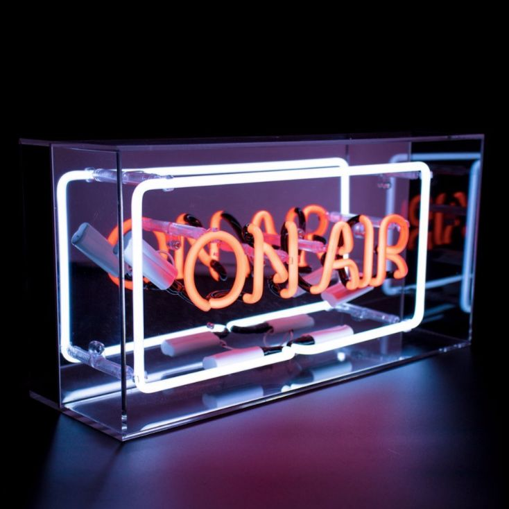 On Air Neon Light Retro Gifts Seletti £ 89.00 Store UK, US, EU, AE,BE,CA,DK,FR,DE,IE,IT,MT,NL,NO,ES,SE