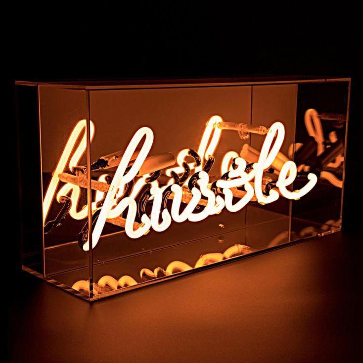 Neon Hustle Sign Vintage Lighting Seletti £ 80.00 Store UK, US, EU, AE,BE,CA,DK,FR,DE,IE,IT,MT,NL,NO,ES,SE