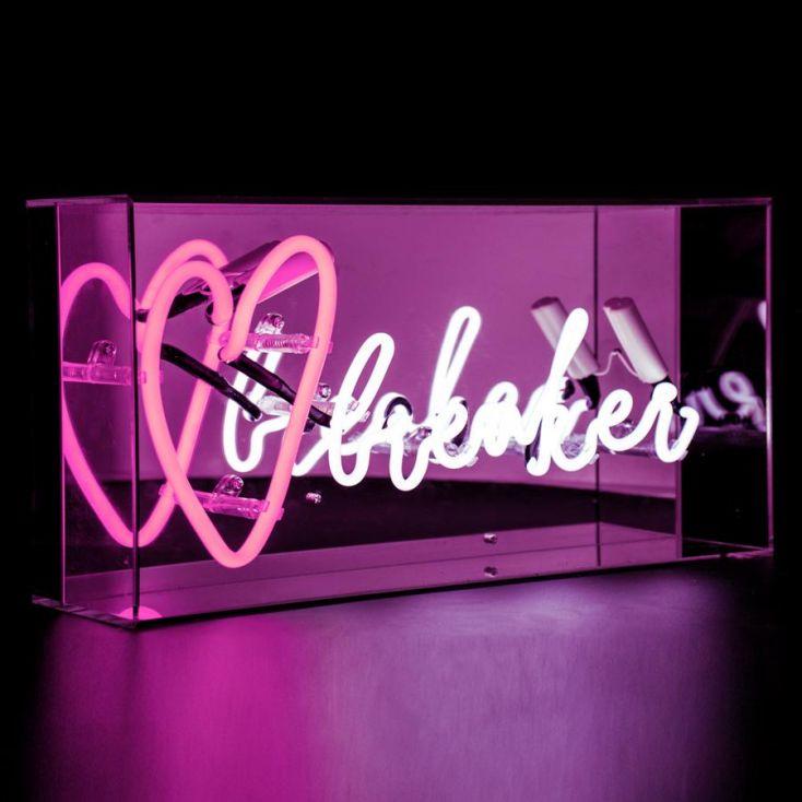 Heart Breaker Neon Sign Vintage Lighting Seletti £ 79.00 Store UK, US, EU, AE,BE,CA,DK,FR,DE,IE,IT,MT,NL,NO,ES,SE