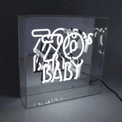 70s Baby Neon Light
