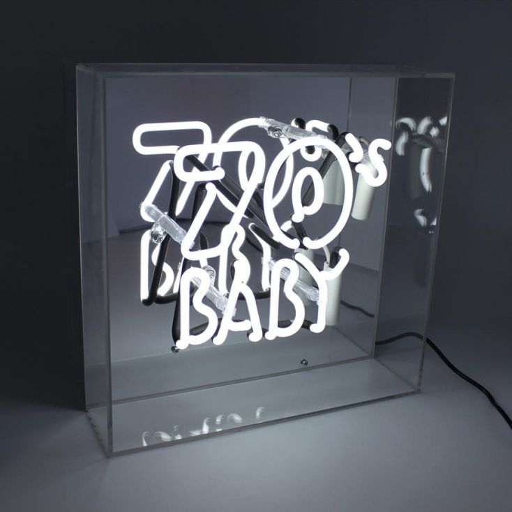 70s Baby Neon Light Neon Signs Smithers of Stamford £ 94.00 Store UK, US, EU, AE,BE,CA,DK,FR,DE,IE,IT,MT,NL,NO,ES,SE