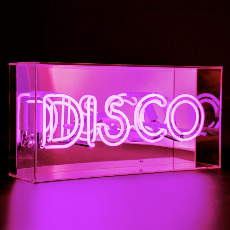 Disco Neon Light Neon Signs Smithers of Stamford £ 95.00 Store UK, US, EU, AE,BE,CA,DK,FR,DE,IE,IT,MT,NL,NO,ES,SE