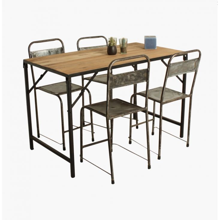 Industrial Folding Table Dining Tables Smithers of Stamford £ 424.00 Store UK, US, EU, AE,BE,CA,DK,FR,DE,IE,IT,MT,NL,NO,ES,SE
