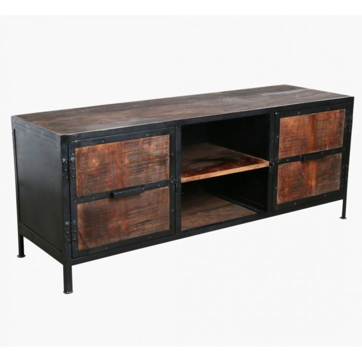 Factory Industrial Tv Stand Living Room Smithers of Stamford £ 792.00 Store UK, US, EU, AE,BE,CA,DK,FR,DE,IE,IT,MT,NL,NO,ES,SE