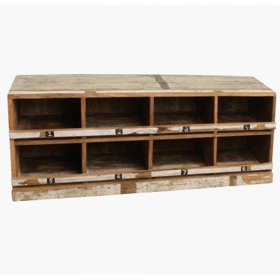 Reclaimed Wood Shoe Rack