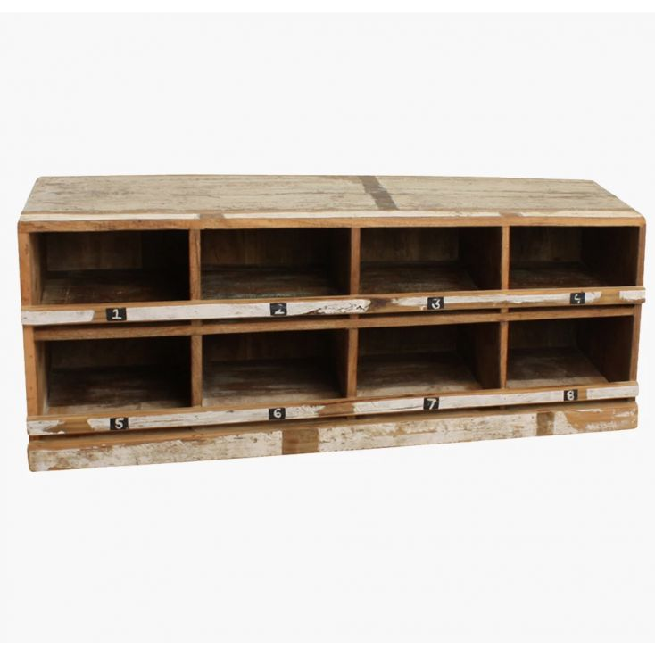 Reclaimed Wood Shoe Rack Storage Furniture Smithers of Stamford £ 495.00 Store UK, US, EU, AE,BE,CA,DK,FR,DE,IE,IT,MT,NL,NO,E...