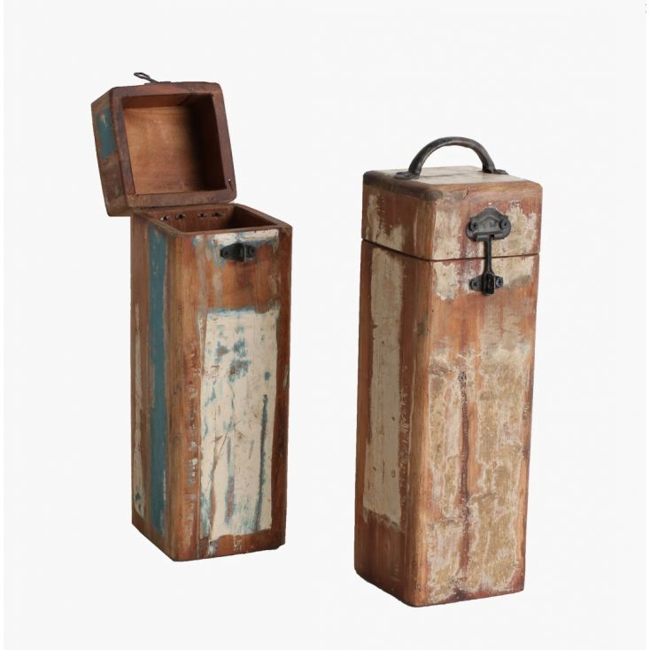 Wood Wine Bottle Box This And That Smithers of Stamford £ 27.00 Store UK, US, EU, AE,BE,CA,DK,FR,DE,IE,IT,MT,NL,NO,ES,SE
