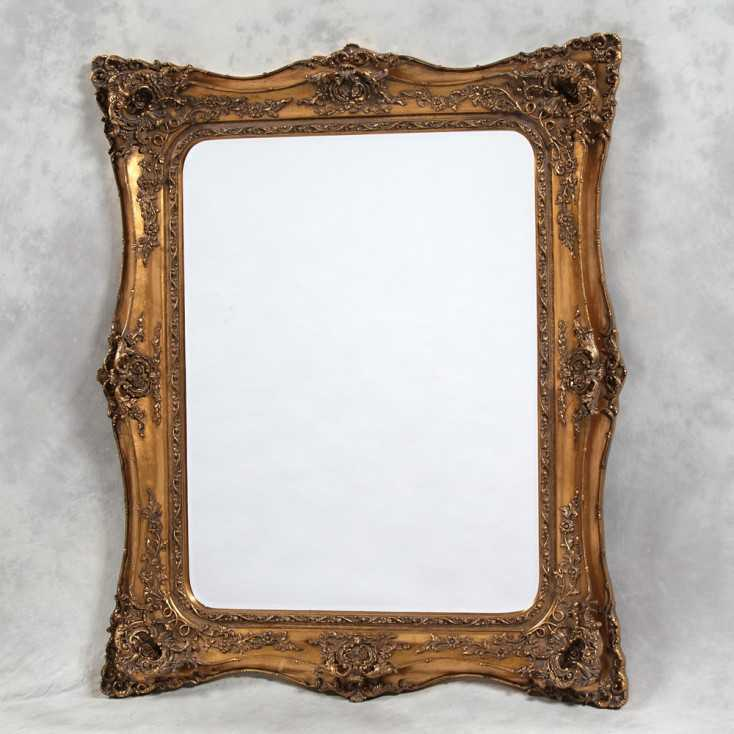 Gold French Square Mirror Smithers Archives Smithers of Stamford £ 417.00 Store UK, US, EU, AE,BE,CA,DK,FR,DE,IE,IT,MT,NL,NO,...
