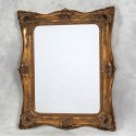 Gold French Square Mirror