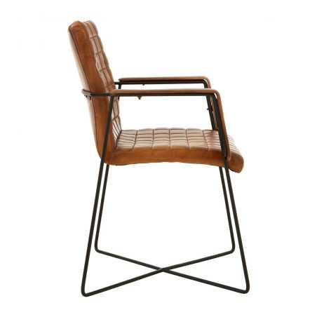 Weave Leather Chair Industrial Furniture Smithers of Stamford £ 425.00 Store UK, US, EU, AE,BE,CA,DK,FR,DE,IE,IT,MT,NL,NO,ES,SE