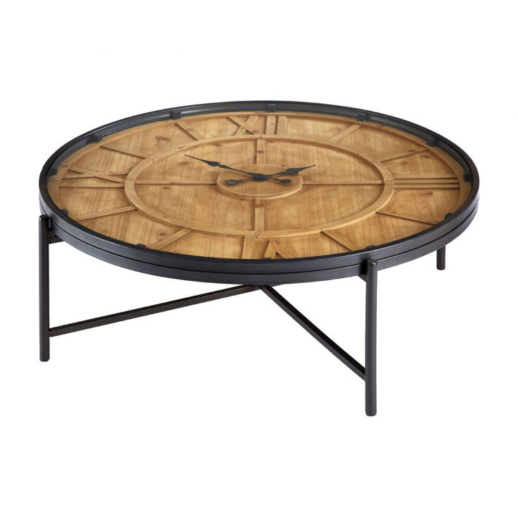 Wood Clock Table Living Room Smithers of Stamford £ 552.00 Store UK, US, EU, AE,BE,CA,DK,FR,DE,IE,IT,MT,NL,NO,ES,SE