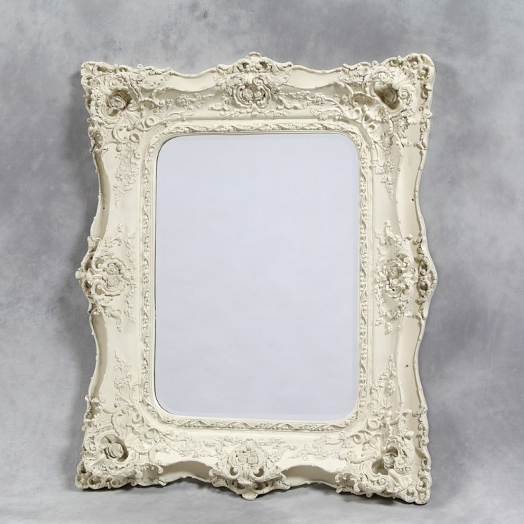 Cream White Classic Ornate Mirror Smithers Archives Smithers of Stamford £ 417.00 Store UK, US, EU, AE,BE,CA,DK,FR,DE,IE,IT,M...