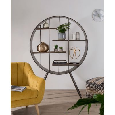 Industrial Orbital Shelf Cabinet
