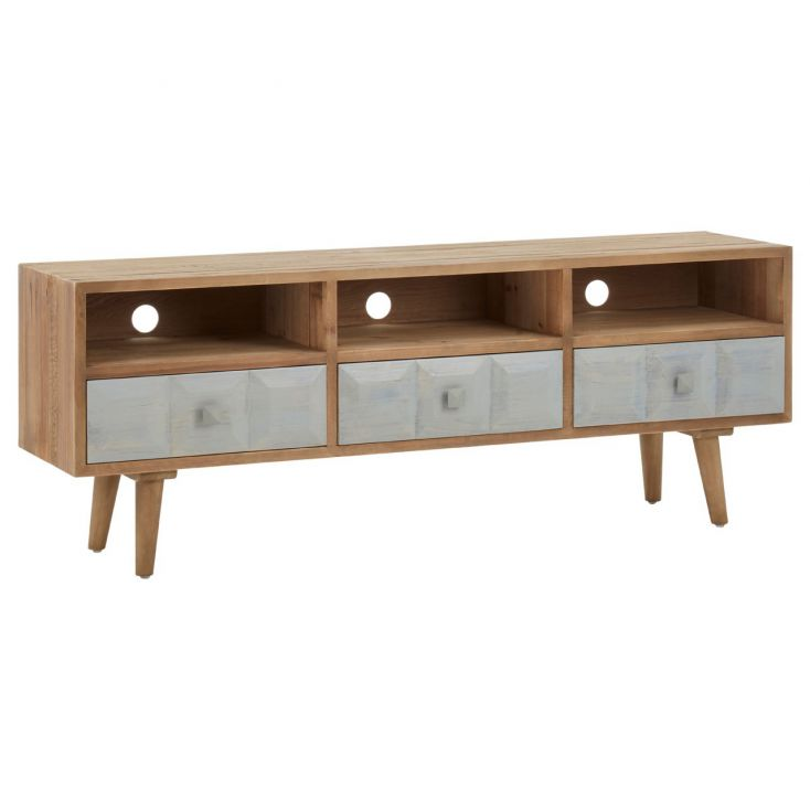 White Washed Wood Tv Unit Living Room Smithers of Stamford £ 1,060.00 Store UK, US, EU, AE,BE,CA,DK,FR,DE,IE,IT,MT,NL,NO,ES,SE