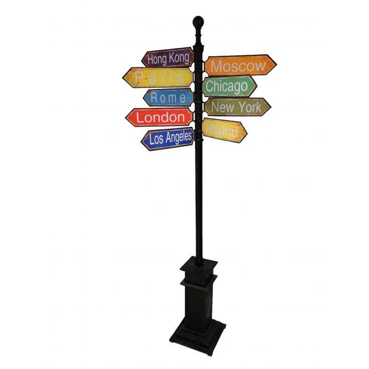 Signpost London, Paris, New York Retro Ornaments £ 766.00 Store UK, US, EU, AE,BE,CA,DK,FR,DE,IE,IT,MT,NL,NO,ES,SE