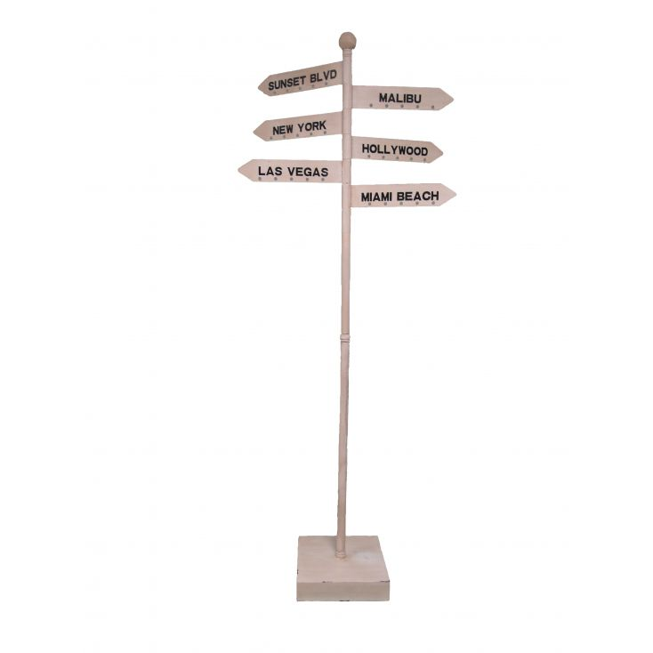 Signpost , Hollywood, Las Vegas Retro Ornaments £ 290.00 Store UK, US, EU, AE,BE,CA,DK,FR,DE,IE,IT,MT,NL,NO,ES,SE