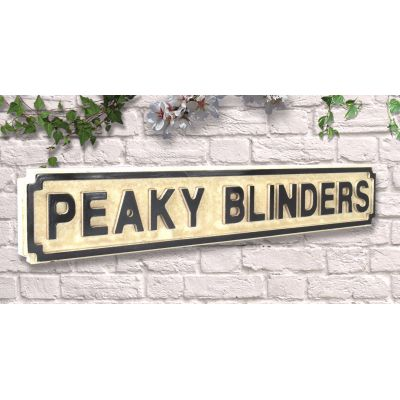 Peaky Blinders Sign