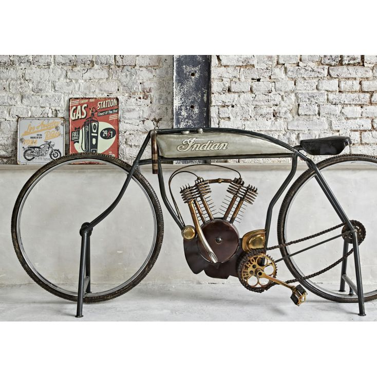 Indian Bike Retro Ornaments Smithers of Stamford £ 1,153.00 Store UK, US, EU, AE,BE,CA,DK,FR,DE,IE,IT,MT,NL,NO,ES,SE