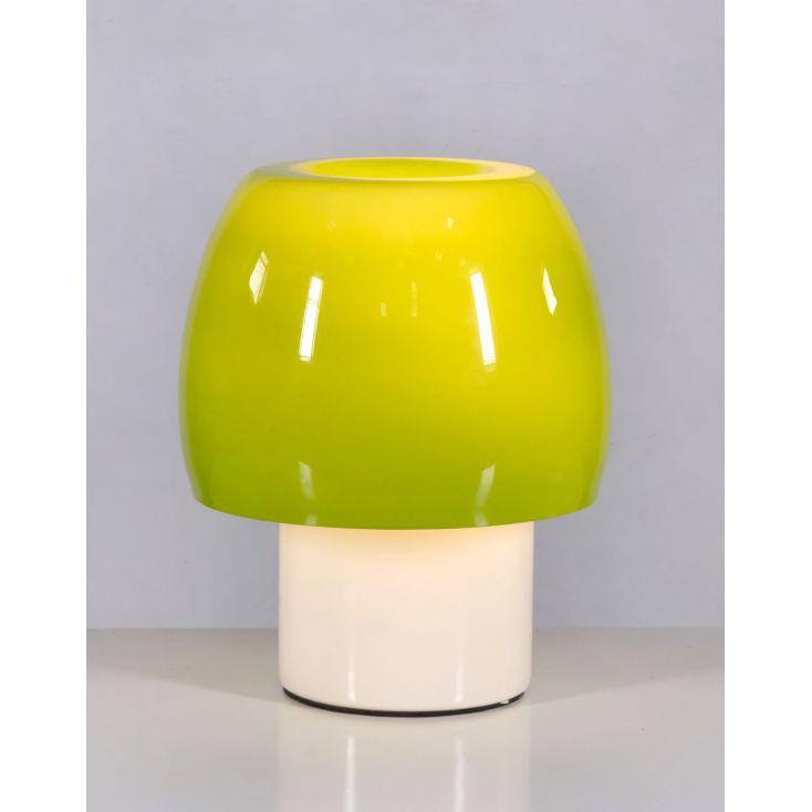 Mushroom Green Glass Table Lamp Vintage Lighting Smithers of Stamford £ 89.00 Store UK, US, EU, AE,BE,CA,DK,FR,DE,IE,IT,MT,N...
