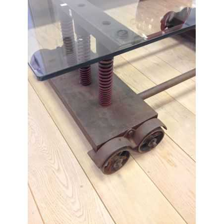 Industrial Shocker Coffee Table Home Smithers of Stamford £ 790.00 Store UK, US, EU, AE,BE,CA,DK,FR,DE,IE,IT,MT,NL,NO,ES,SE