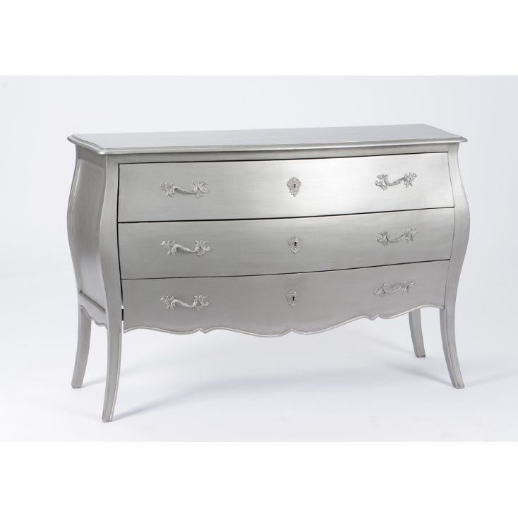 Silver French Chest Bombe Chest of Drawers Smithers of Stamford £ 757.00 Store UK, US, EU, AE,BE,CA,DK,FR,DE,IE,IT,MT,NL,NO,E...