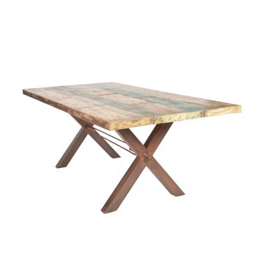 Reclaimed Boat Wood Dining Table Kitchen & Dining Room Smithers of Stamford 1,238.00 Store UK, US, EU, AE,BE,CA,DK,FR,DE,IE,I...