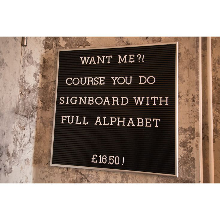 Letter Message Board Retro Signs £ 16.50 Store UK, US, EU, AE,BE,CA,DK,FR,DE,IE,IT,MT,NL,NO,ES,SE