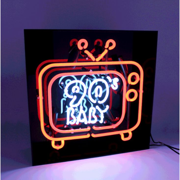 90s Baby Neon Light Neon Signs Smithers of Stamford £ 119.00 Store UK, US, EU, AE,BE,CA,DK,FR,DE,IE,IT,MT,NL,NO,ES,SE
