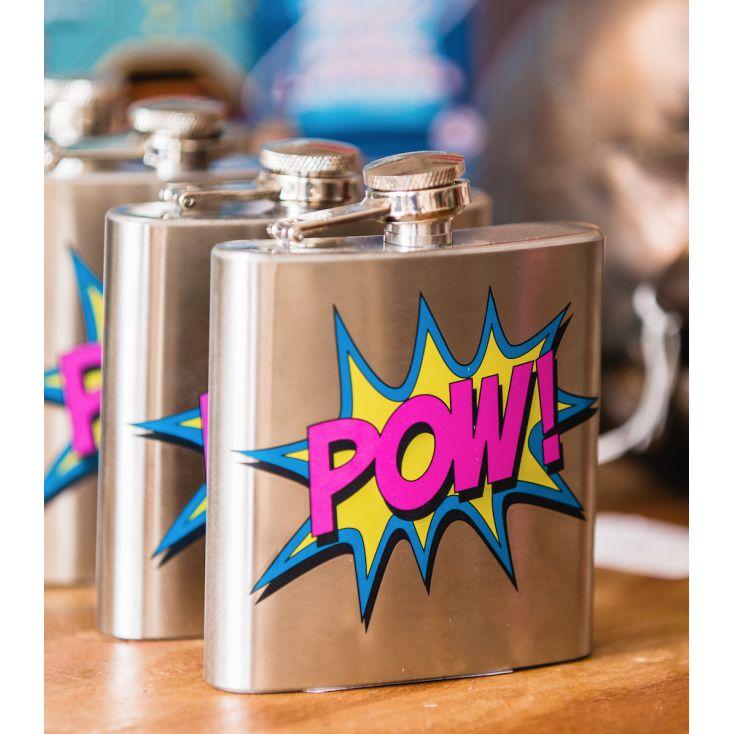 POW Hipflask Personal Accessories £ 8.00 Store UK, US, EU, AE,BE,CA,DK,FR,DE,IE,IT,MT,NL,NO,ES,SE