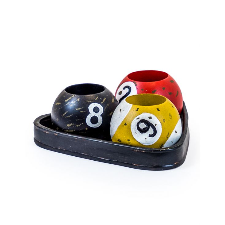 Pool Ball Candle Holder Retro Ornaments £ 40.00 Store UK, US, EU, AE,BE,CA,DK,FR,DE,IE,IT,MT,NL,NO,ES,SE