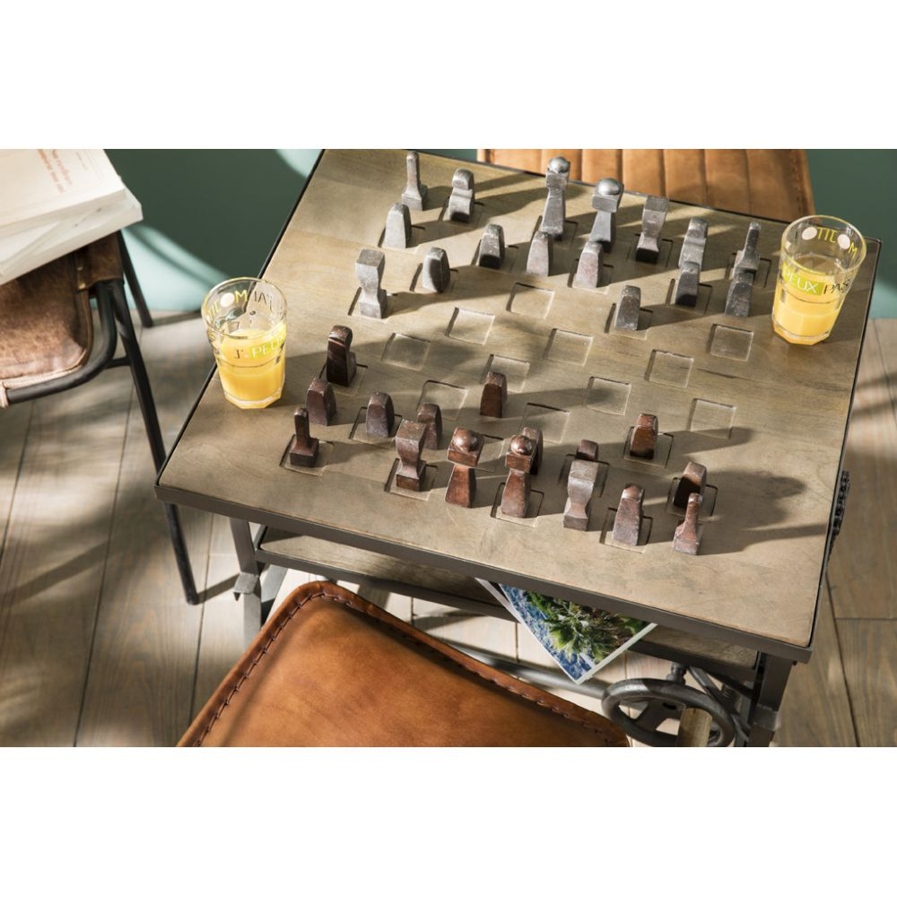 Chess Table Wind Up Adjule