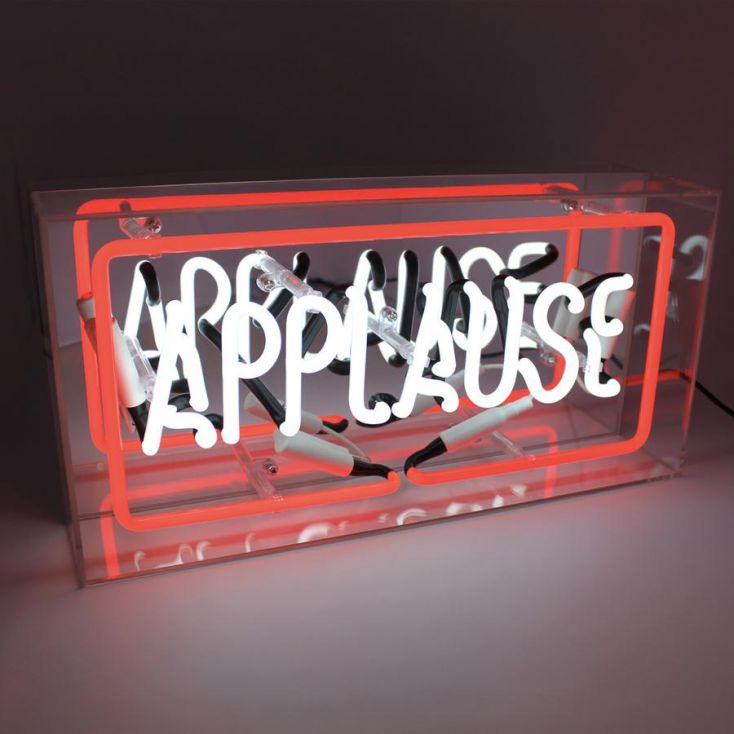 Applause Neon Light Vintage Lighting Seletti £ 89.00 Store UK, US, EU, AE,BE,CA,DK,FR,DE,IE,IT,MT,NL,NO,ES,SE