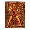 Lady In Rug