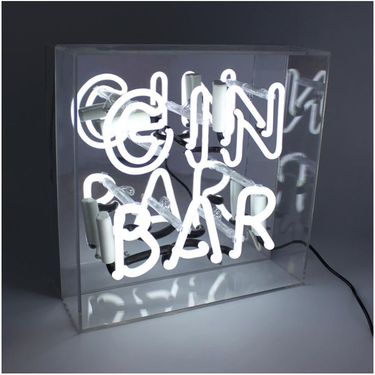 Neon Lights For Home Gin Bar Sign